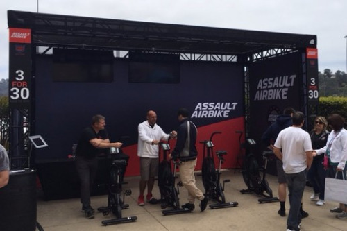 Assault Airbike Booth